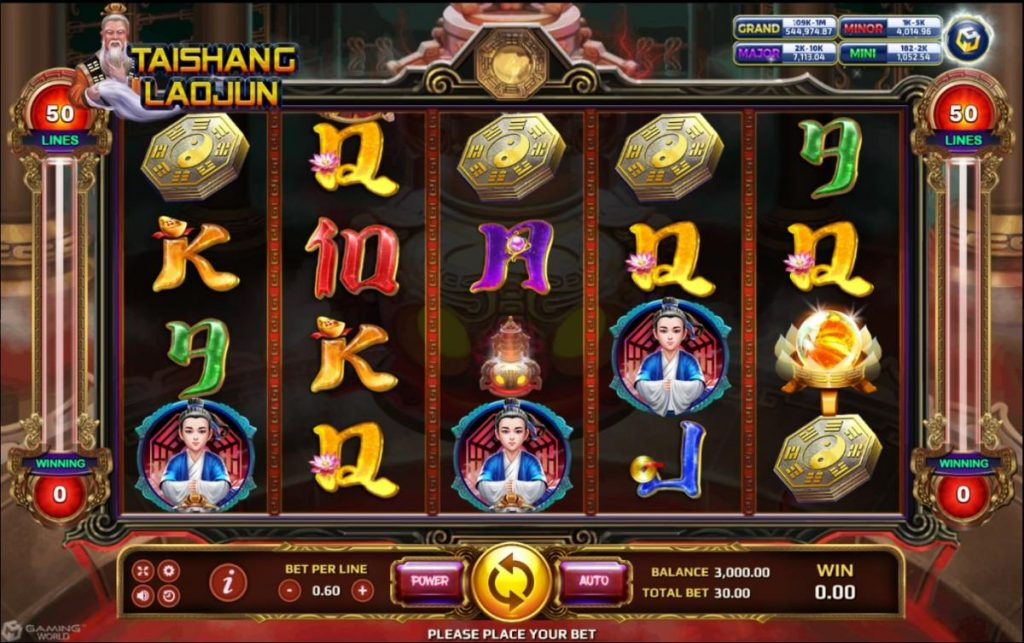 Tai Shang Lao jun เกมสล็อต